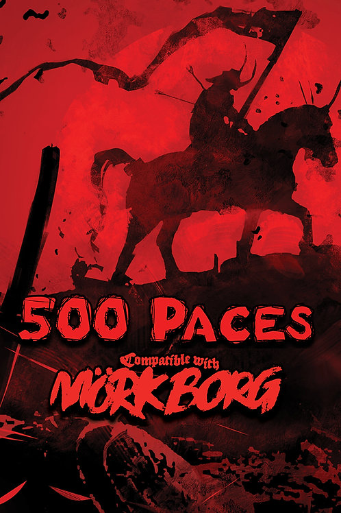 500 Paces - Adventure for MÖRK BORG [PDF]