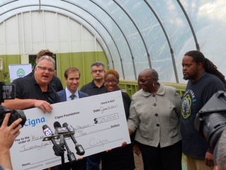 Cigna Bankrolls Keney Park Food Sustainability Program