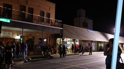 Downtown Carrollton at Night