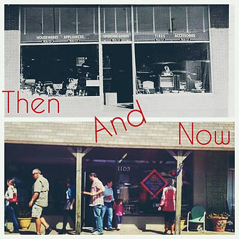 Past and Present Downtown Carrollton Texas Historic