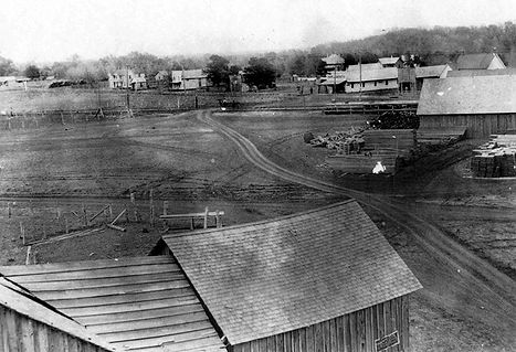 Downtown Carrollton 1902 Historic photos