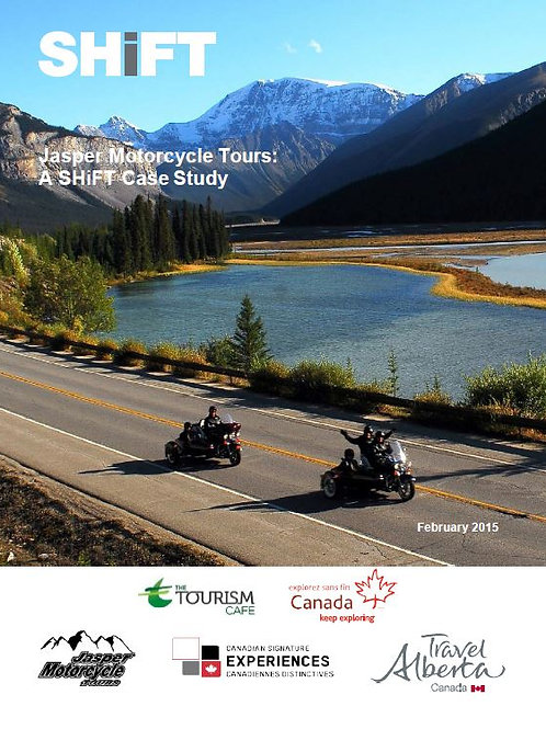 Jasper Motorcycle Tours:A SHiFT Case Study