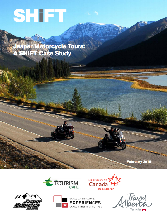 Jasper Motorcycle Tours: A SHiFT Case Study