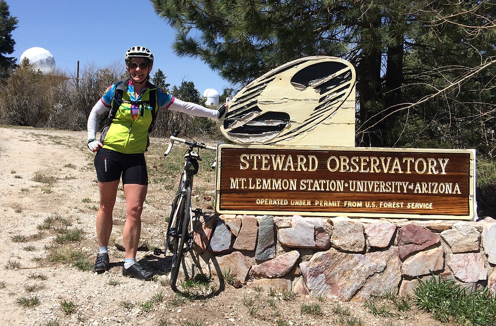 Image: Iconic Mt Lemmon climb was the inspiration and reason for travelling to Tucson.