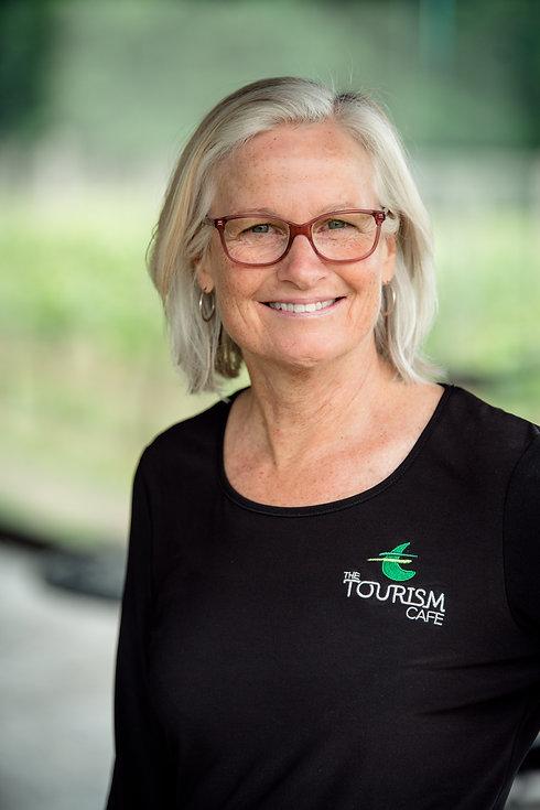 Tourism Cafe (2021) Diana Gould Bio Phot