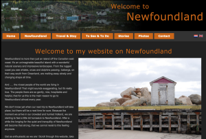 Welcome to Newfoundland Destination Development