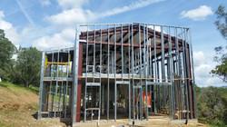 Hays House under construction