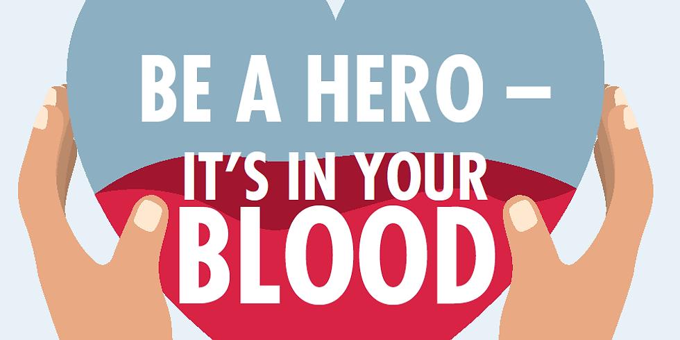 GW 2021 Annual Blood Drive