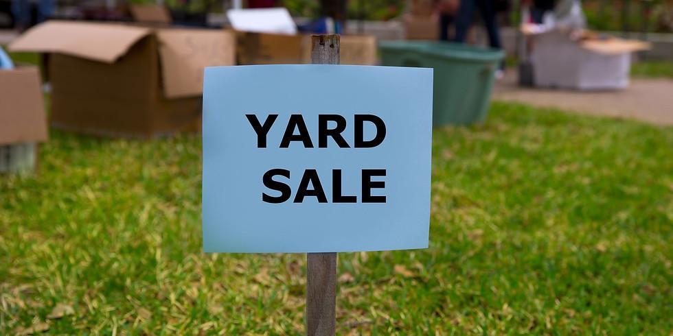 GW Churchwide Yard Sale