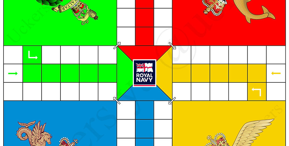 RN Fighting Arm Uckers Board