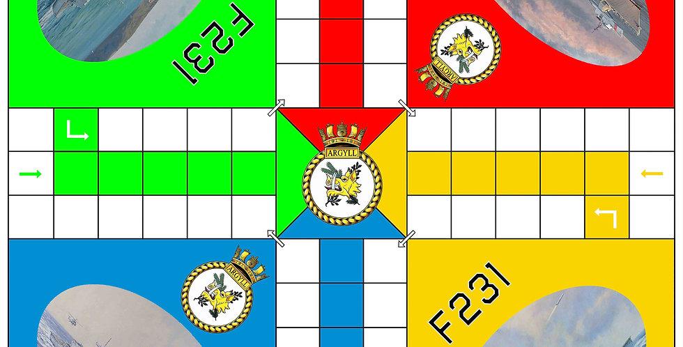 HMS Argyl Uckers Board