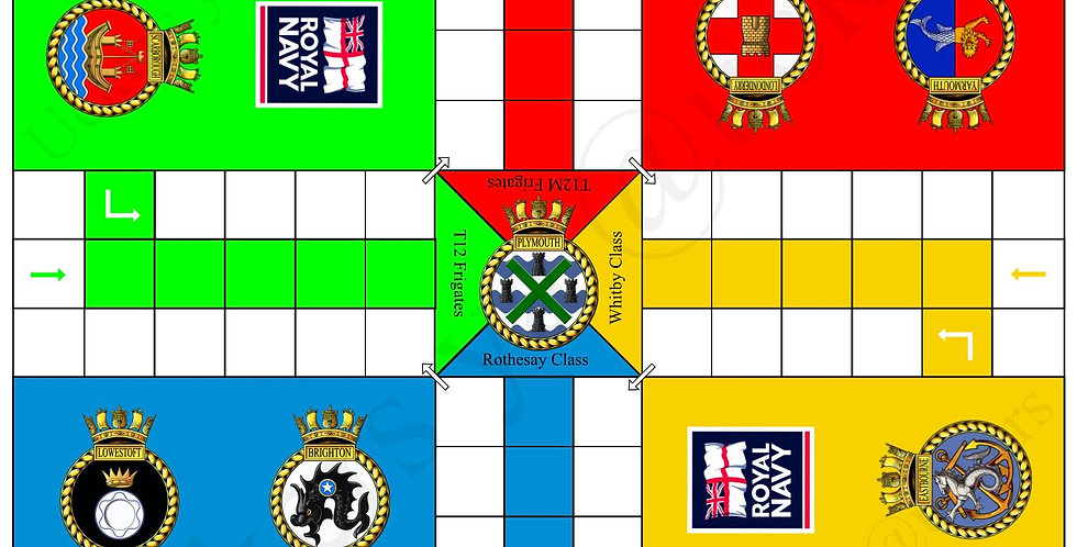 Rothesay-Whitby Uckers Board