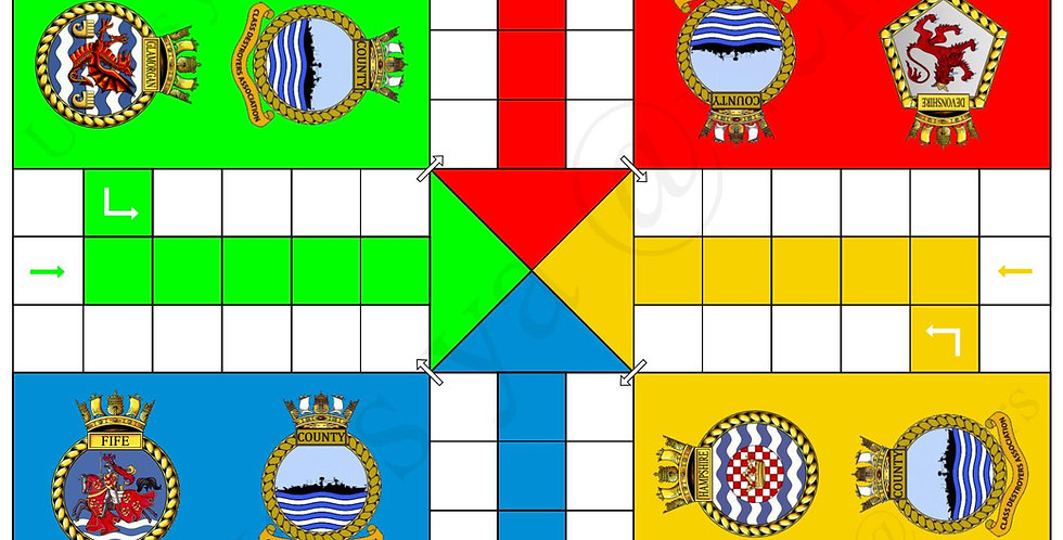 CCDA (County Class Destroyer Association Uckers Board
