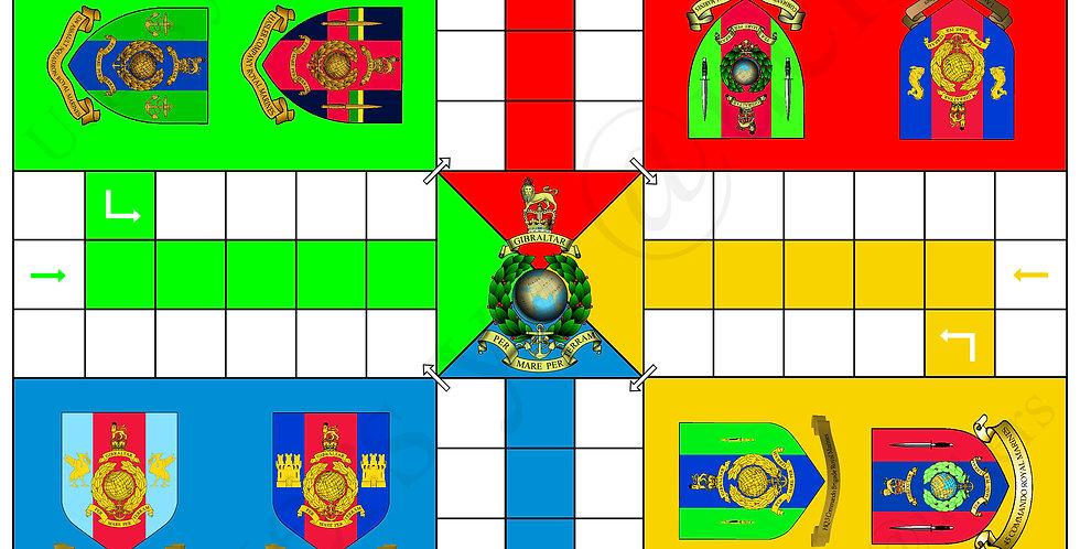 Royal Marine Uckers Board