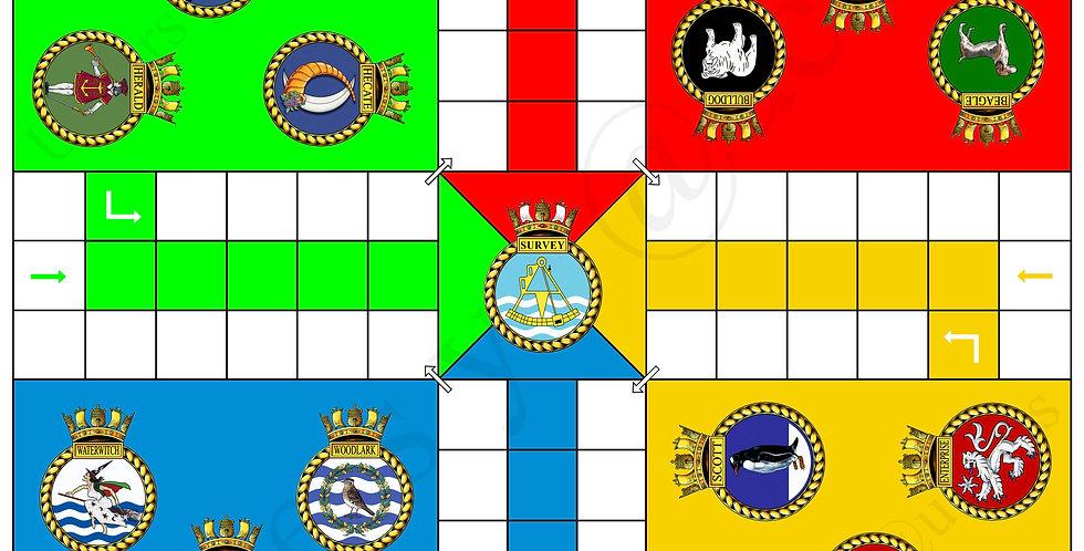 Survey Ships Uckers Board