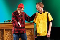 Ian C Smith as Van & Ryan Shea as CB