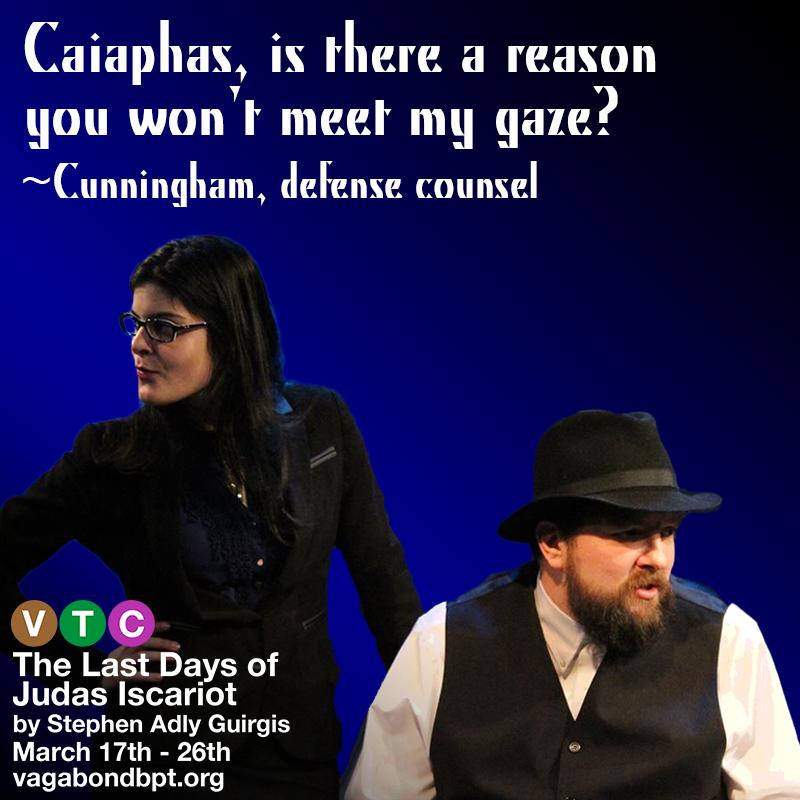 Lynnette Victoria as Cunningham, John Liszewski as Caiaphas txt