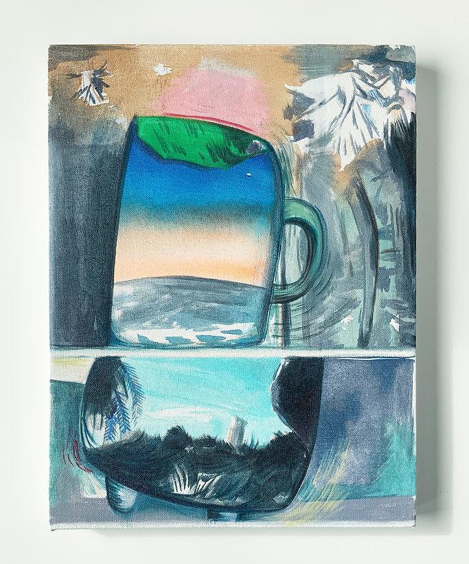 Anne Ehrlich_In Orbit_2021_Oil and Acryl