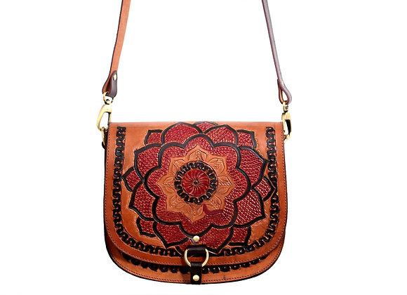 Colourful Floral Mandala Tote Bag