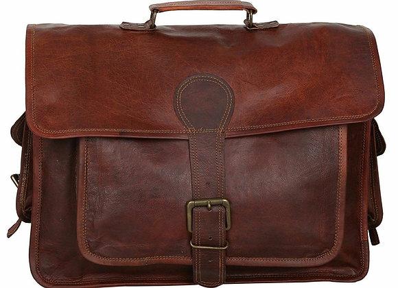Dark Brown Rustic Office Bag