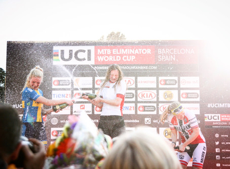 18-year-old from Germany wins UCI Mountain Bike Eliminator World Cup