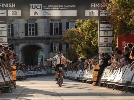 Simon Gegenheimer wird Mountainbike Weltmeister im Sprint