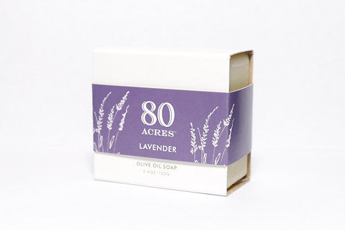 80 Acres Lavender Olive Oil Soap