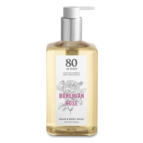 80 Acres Bohemian Rose Hand & Body Wash