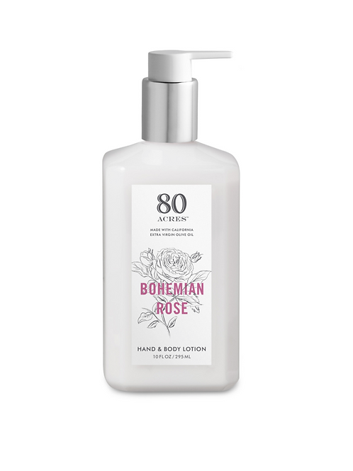 80 Acres Bohemian Rose Hand & Body Lotion