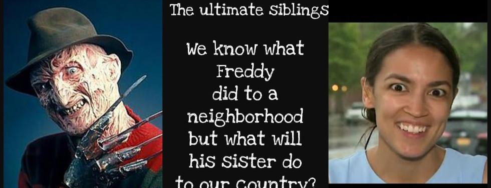 Freddy and Alexandria Cortez