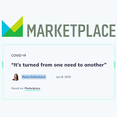 """Marketplace: """"It's turned from one need to another"""""""
