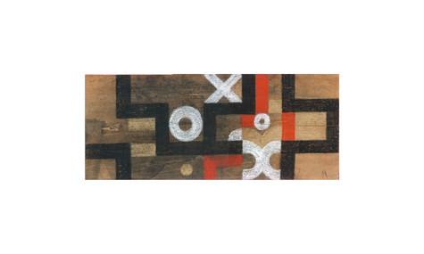Pastel on wood, 2004