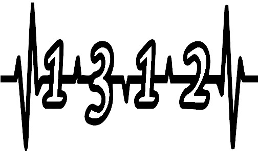 Get this 1312 heartbeat decal in your favorite colors today!! sizes and pricing available soon