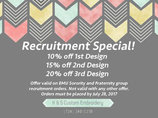 Recruitment Special!