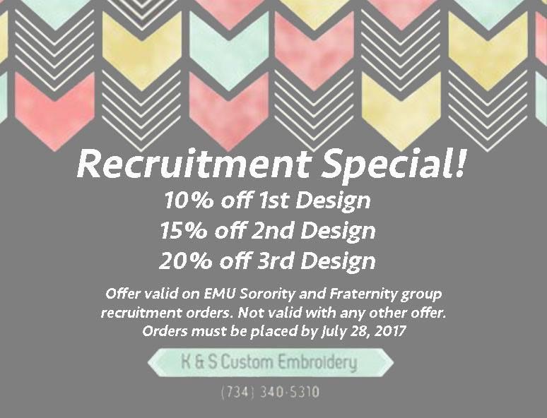 Recruitment Special