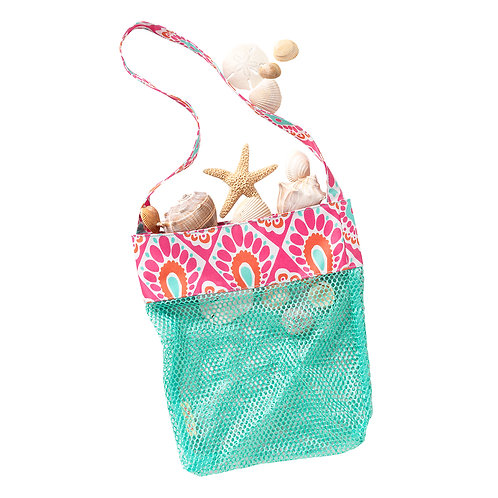 Beachy Keen Mesh Sand Toy Tote