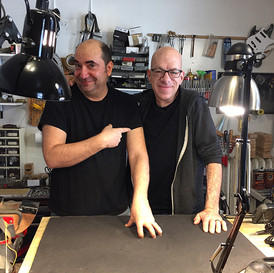 Tech to the Stars, Gary Brawer, at my shop!
