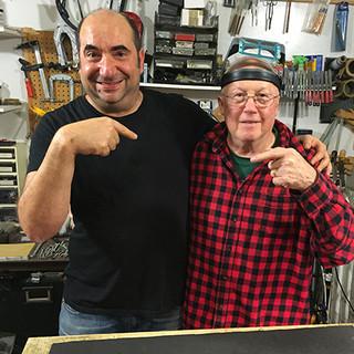 Dan the Man Erlewine at my shop!