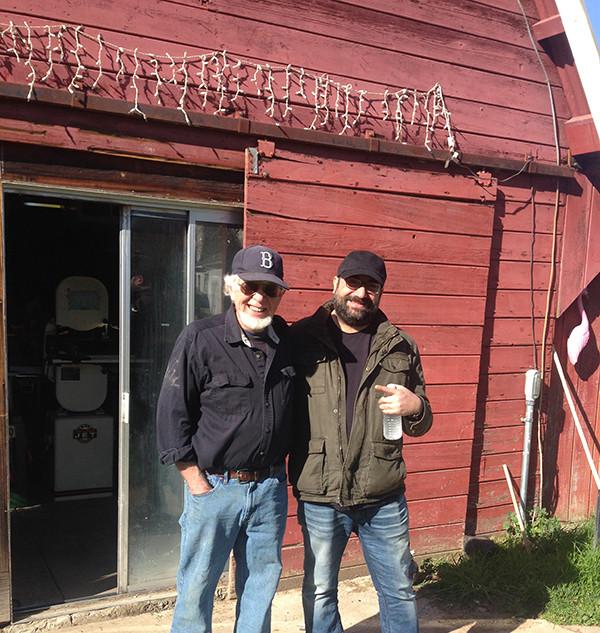 Visiting Tom Ribbecke