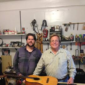 Chris & Jeremy Jenkins of Lame Horse Guitars