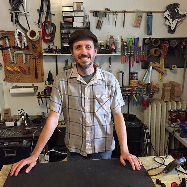 Tim Frick, amazing builder