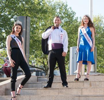 Miss Gloucester, Mr Bristol and Miss Bristol 2017
