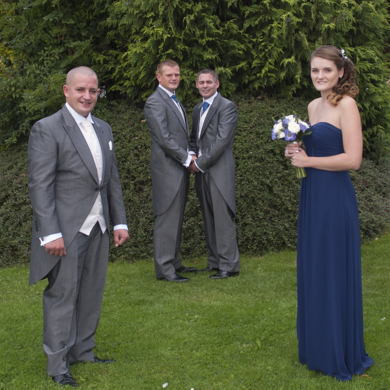 Grroms, bestman and Bridesmaid