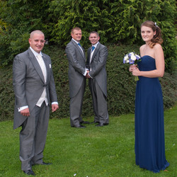 Grroms, bestman and Bridesmaid