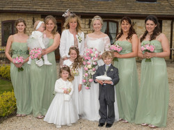 The Bridesmaids and Pageboy