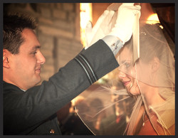 The beautiful bride revealed