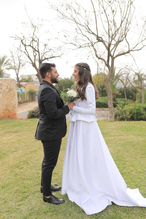 Noble wedding dress model Tal Shahar