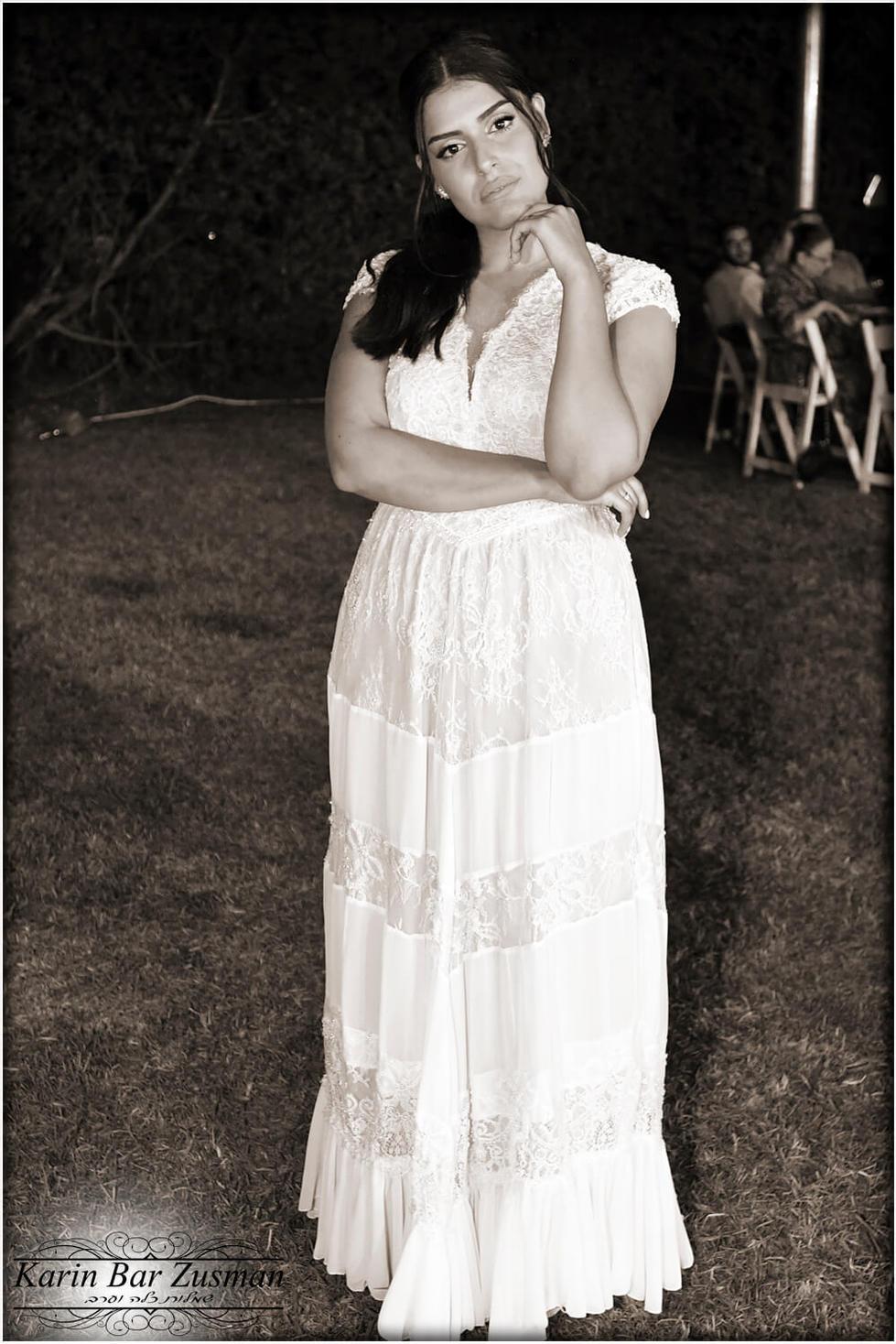 שמלת כלה סגנון בוהו שיק קומות