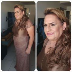 שמלת ערב ברונזה אמא של חתן
