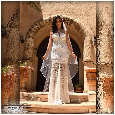 שמלת כלה צמודה המיוחדת